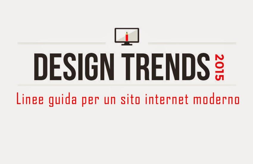 il trend per il web design 2015
