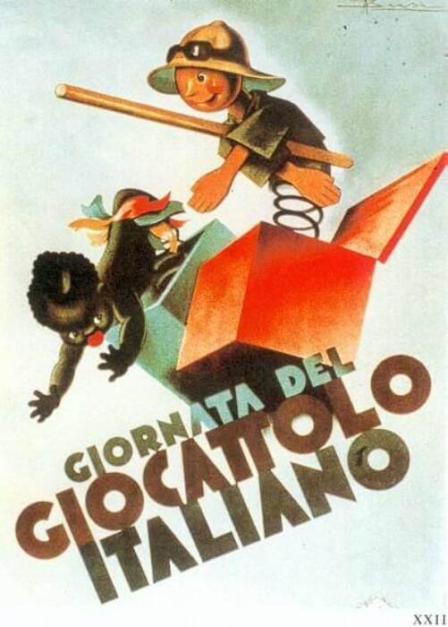 pubblicità fascista del giocattolo italiano