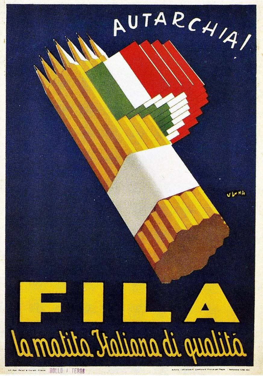 propaganda fascista nella pubblicità