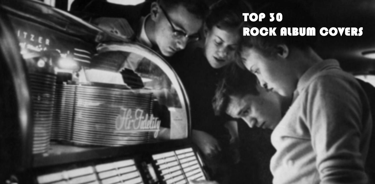 le 30 copertine più belle dei dischi rock