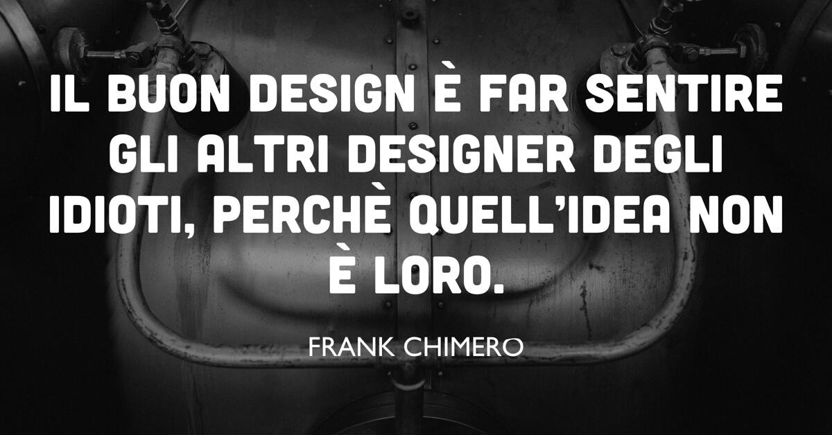 frank chimero citazione design