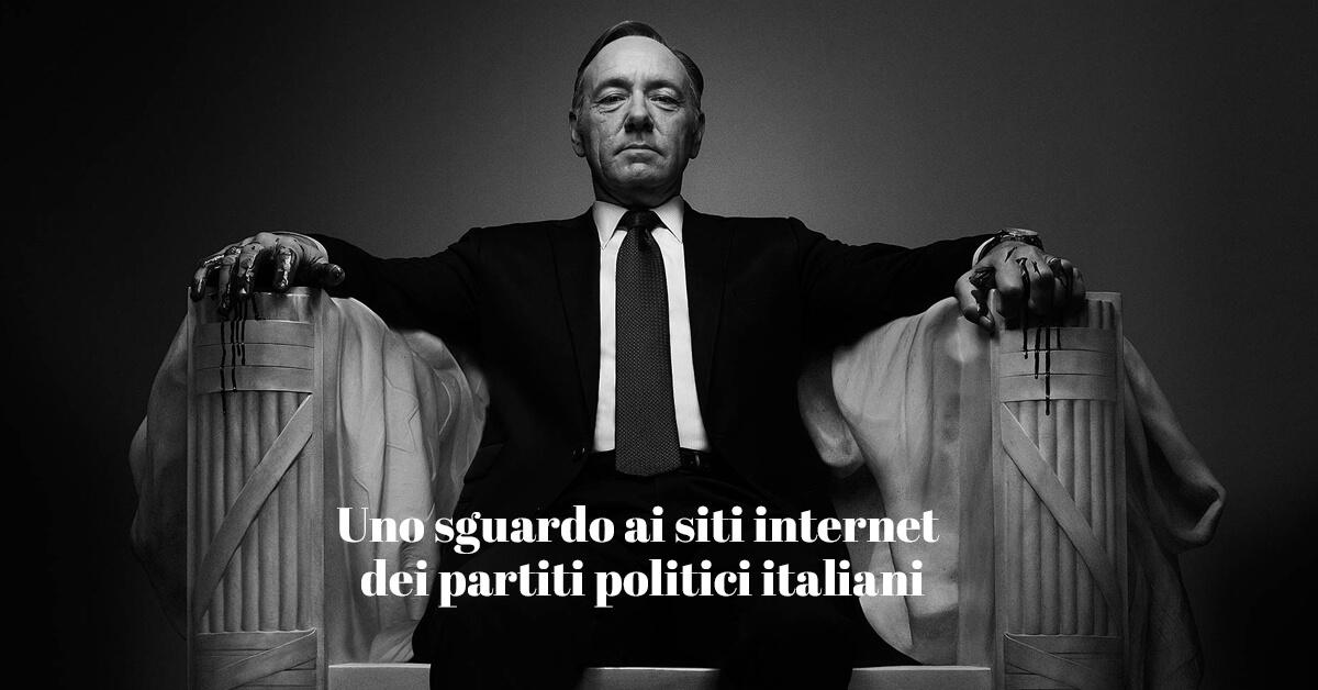 siti internet dei partiti politici italiani