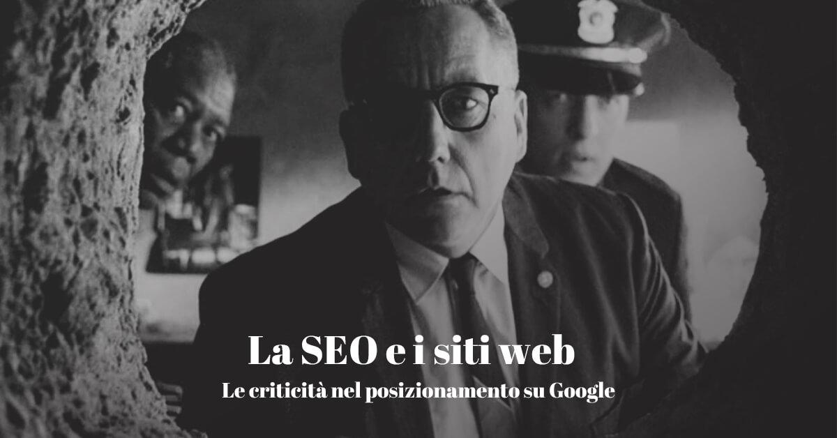 La seo per il posizionamento dei siti web su google
