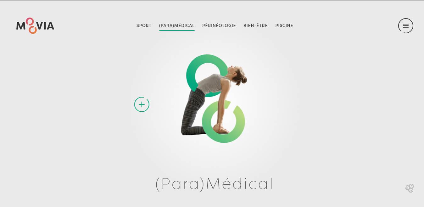 esempio di sito clinica privata