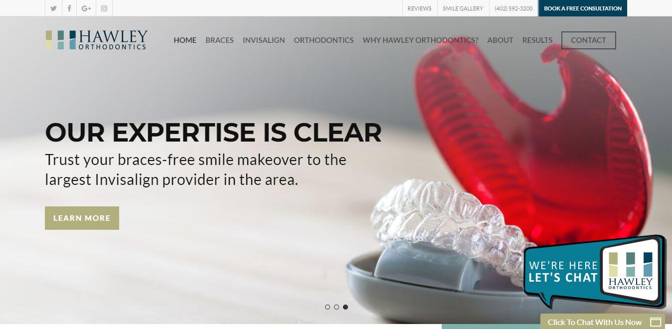 esempio di sito web per dentisti