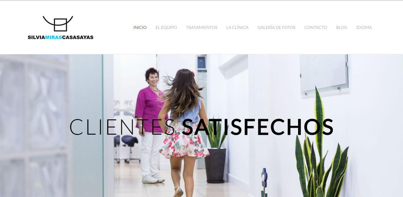 esempio sito web per poliambulatorio