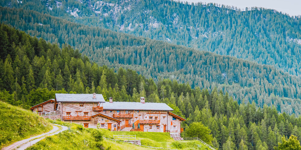 restyling sito web albergo provincia di Cuneo