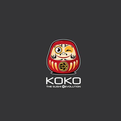 realizzazione grafica del logo ristorante sushi di Cagliari