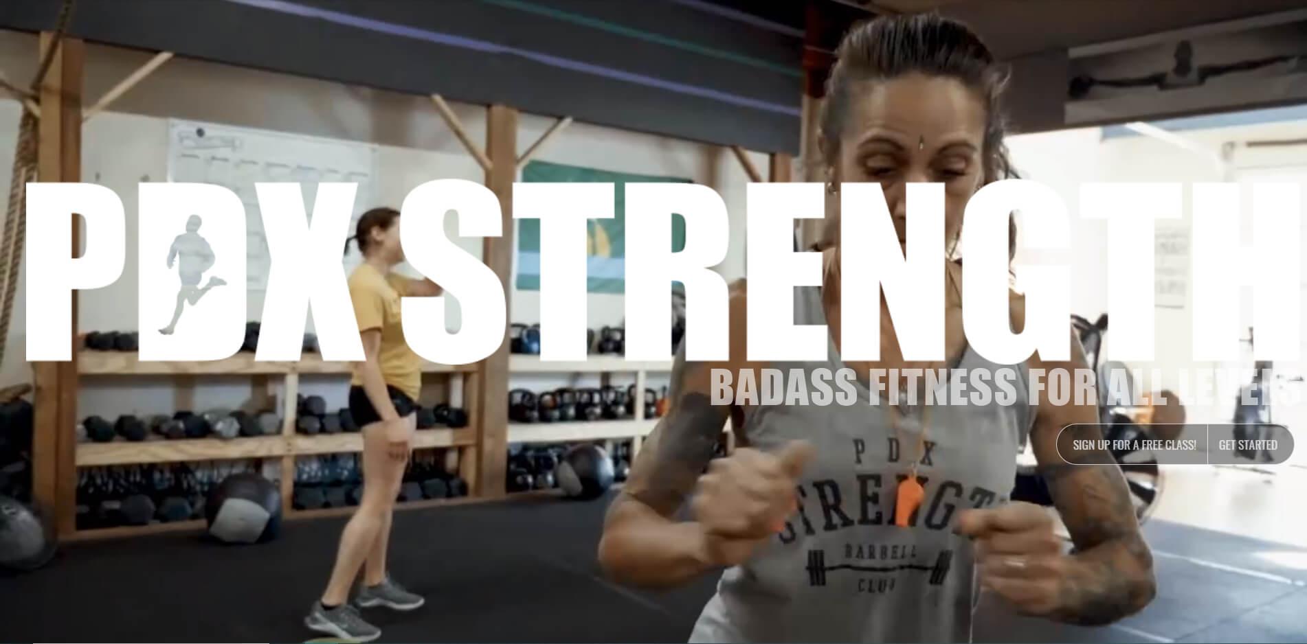 esempio di sito web palestra bodybuilding