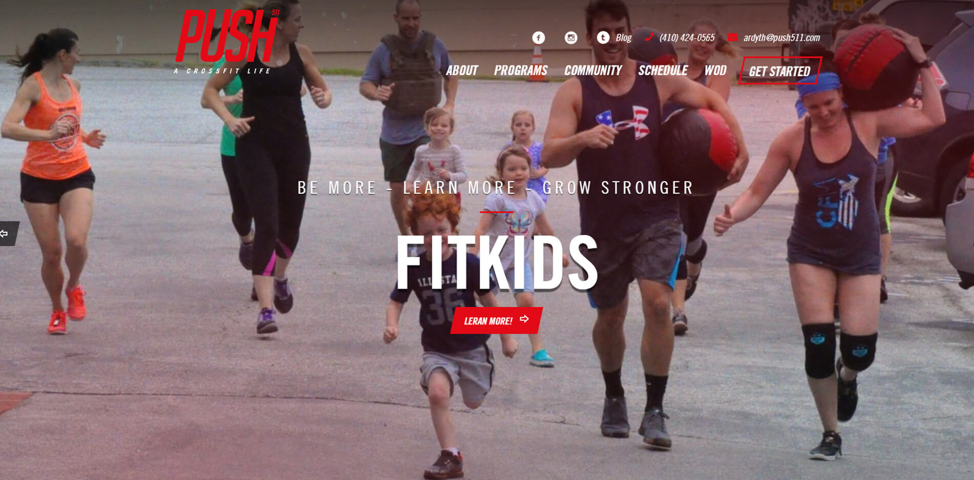 esempio sito web per centro sportivo