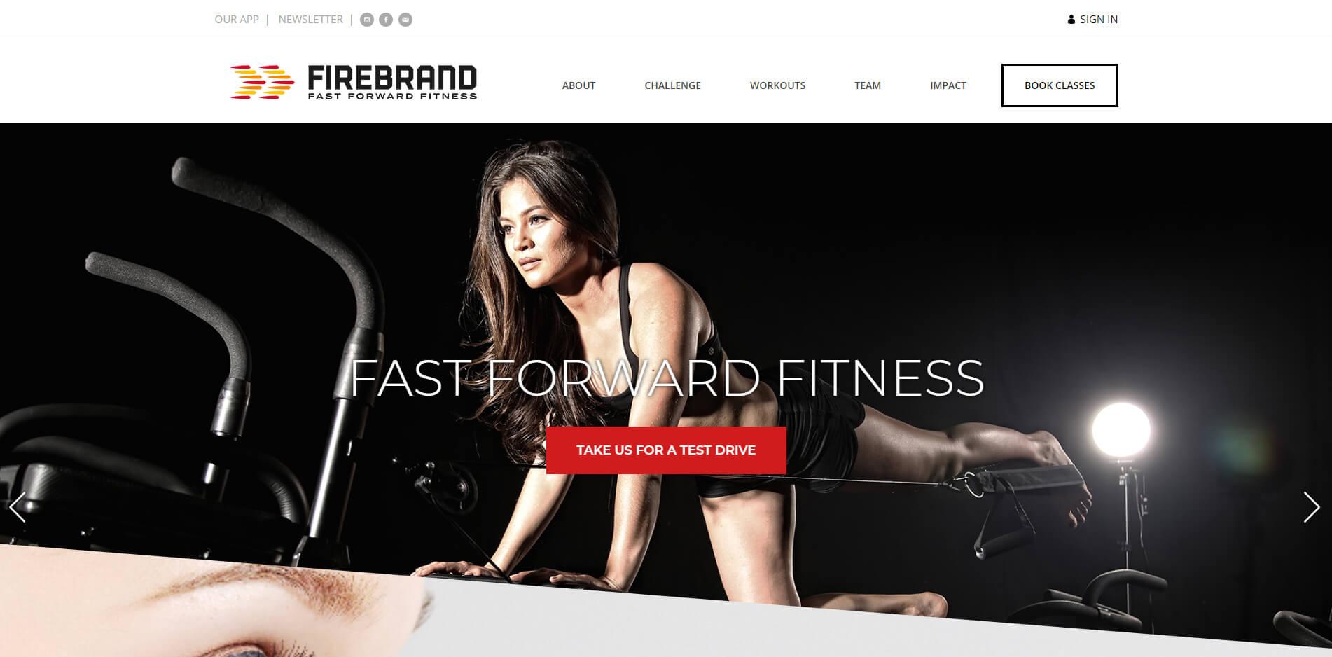 esempio sito web palestra yoga