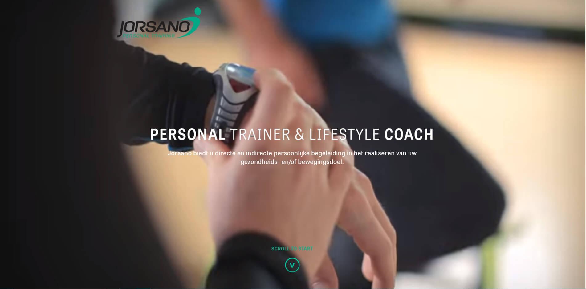 esempio sito web per personal trainer
