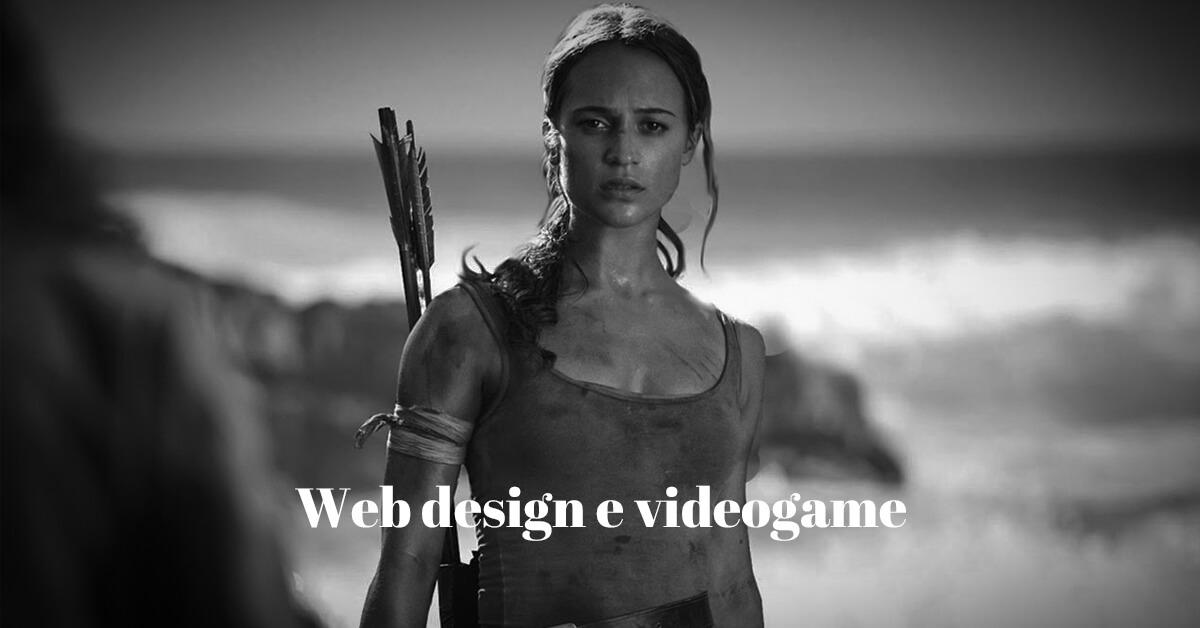 web design e videogame