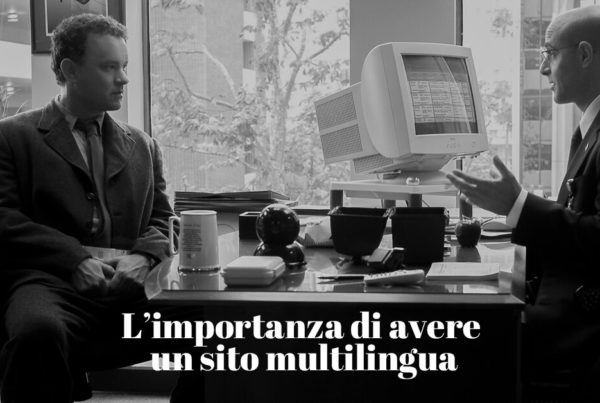 l'importanza di avere un sito web multilingua