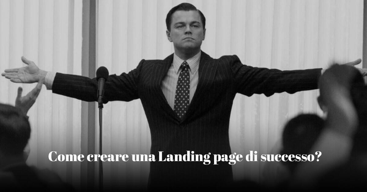consigli su come creare una landing page di successo per la tua startup