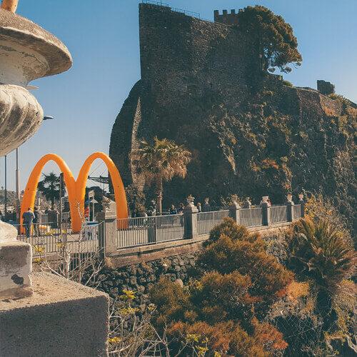 realizzazione logo brand e sito web per azienda partner di McDonald's