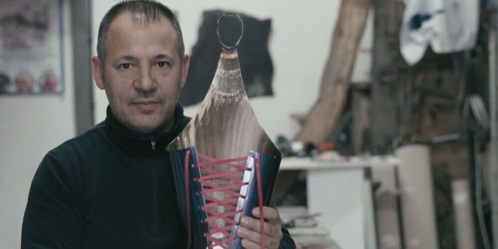 produzione video presentazione per artigiano artista lavorazione ferro